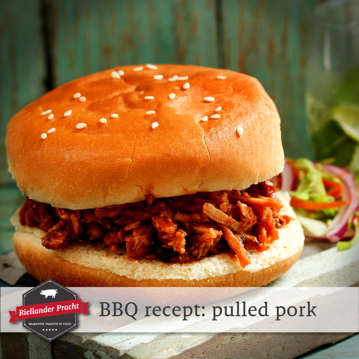BBQ recept: pulled pork