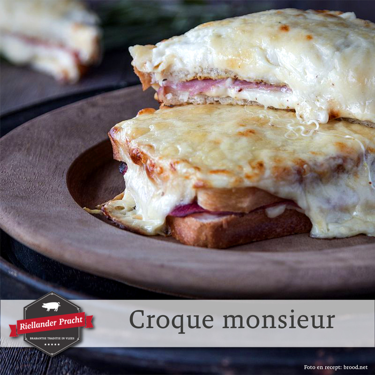 Lunch recept: croque monsieur