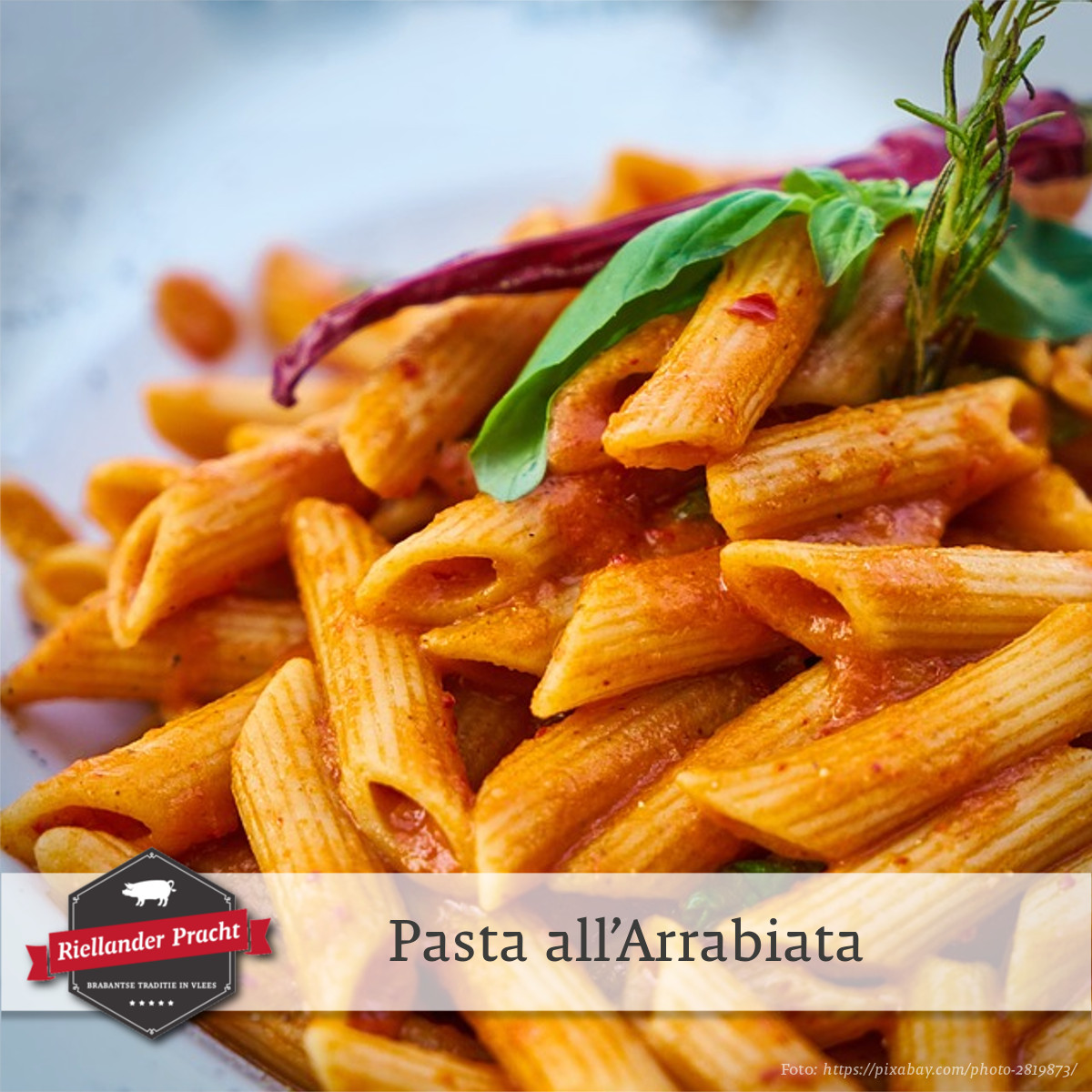 Recept: pasta all'Arrabiata